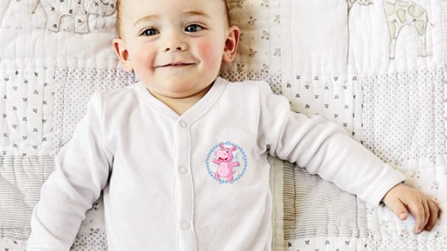 Harry hippo cleft lip baby grow