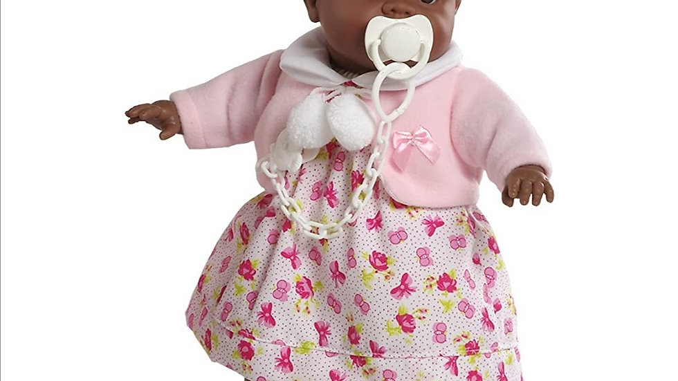 Black girl doll pink clothes