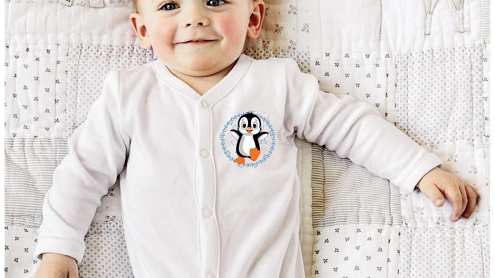 Pip penguin oxygen tubes baby grow