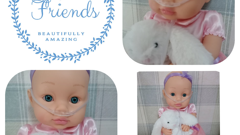 Oxygen bunny doll (limited)