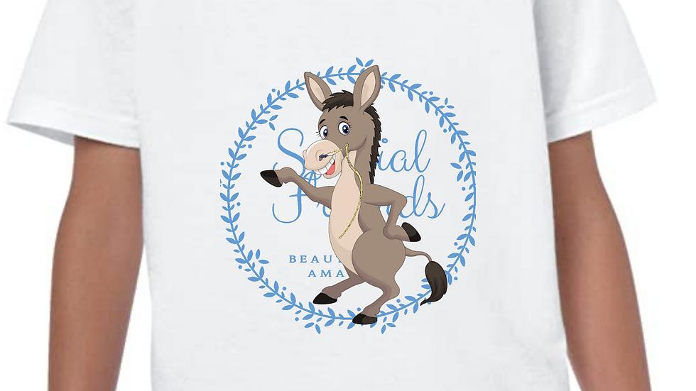 Dilly donkey feeding tube tshirts