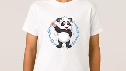 Paddy panda cochlear implant tshirts