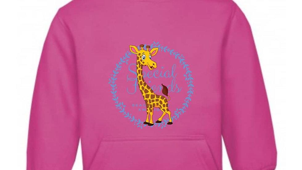 Georgia giraffe bilateral cleft hoodie