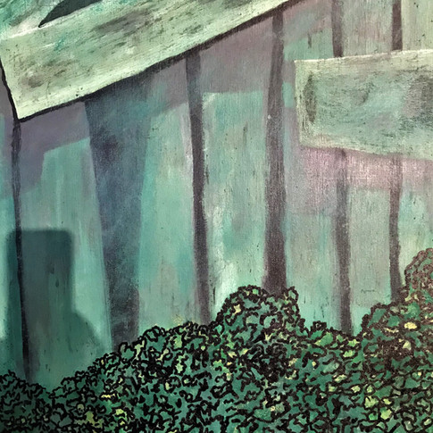 The Fence 50x70