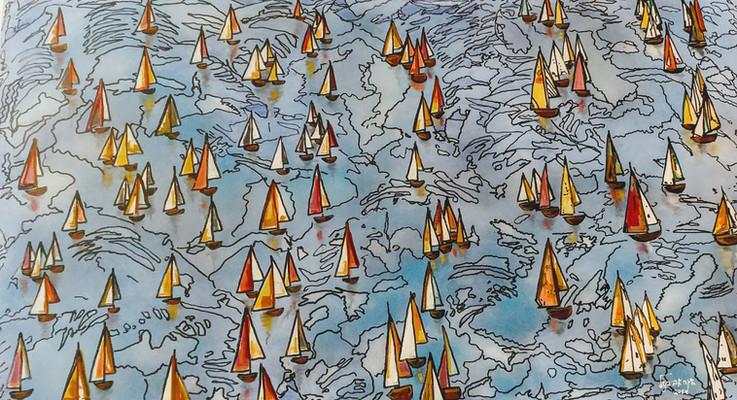Sailing 120x80