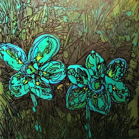 Flowers 50x70