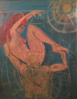 Dancers 90x120