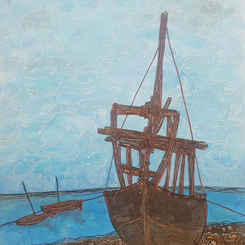 """""""Wooden ships on the water very free""""(Jefferson airplane)"""