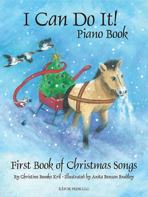 I Can Do It! Piano Book, First Book of Christmas Songs          Digital Download