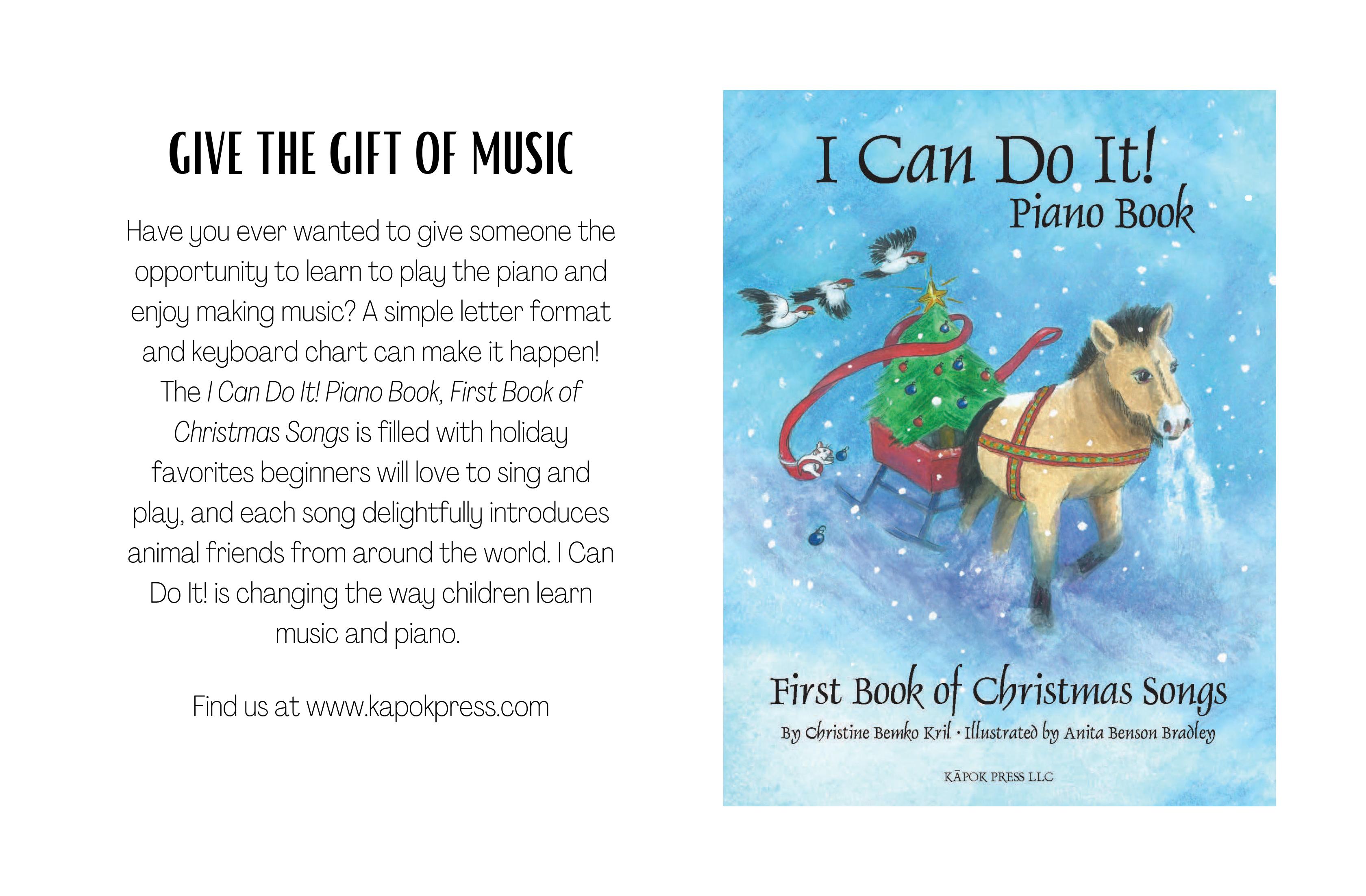 Christmas Book Ad
