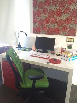 Writing Room of author Taryn Bashford