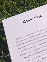 Game Face a novel by Taryn Bashford