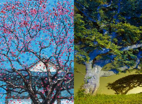 7월 초대전: 백중기, 이흥렬의 ART TREE_예술이 된 나무 이야기