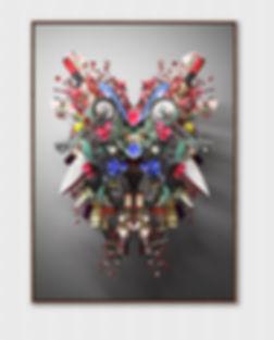 우연한 조우-얼굴No1_100 X 140cm_Pigment print_