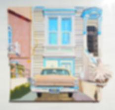 비읍은 고장 난 창문 같아 26.cm × 30.2cm, 종이, 2018.