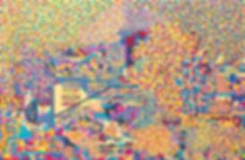 30호-DaLat_VIetnam_1, 장지에 분채 아크릴, 60.5x91