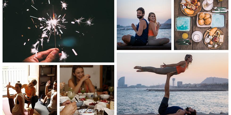 New Year's Eve 2020-21 / 5 Days Acro & Yoga in Moraira, Spain