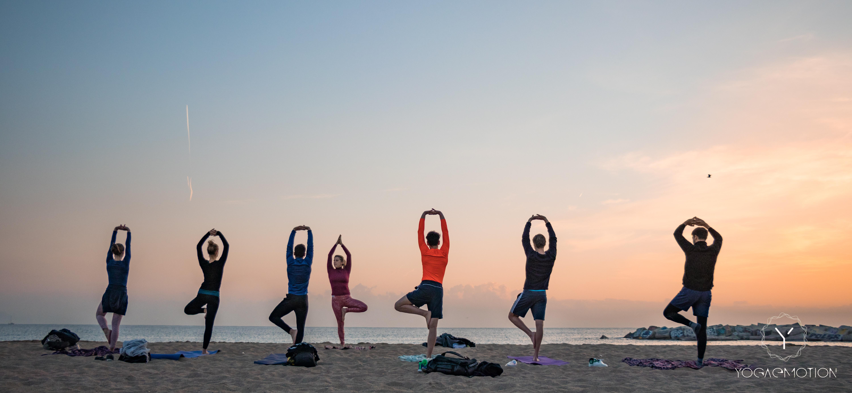 Beach Yoga Class