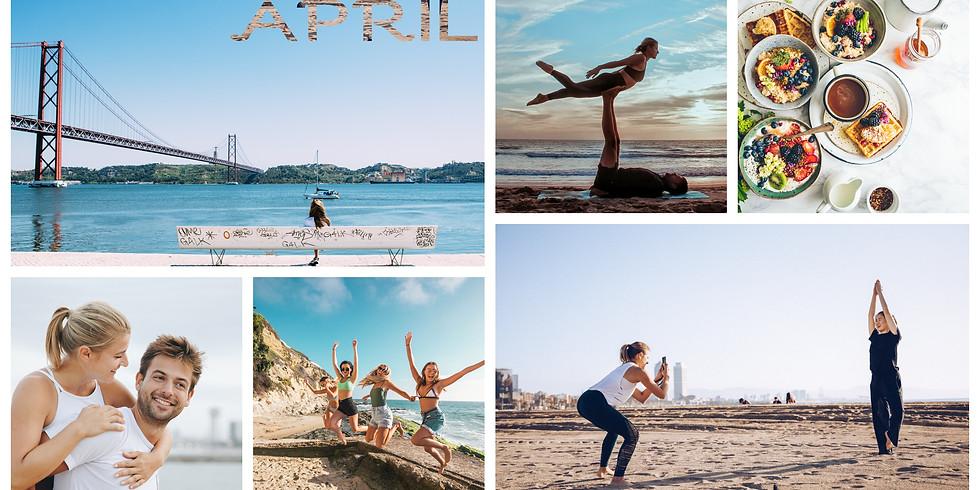 April 2020 / 4 Days Yoga Fly and Beach Fun in Cascais, Portugal
