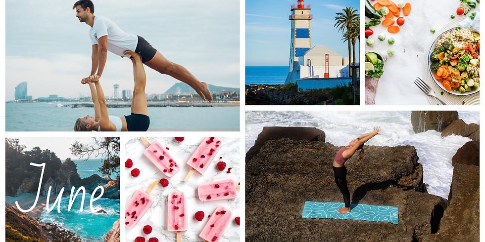 June 2021 / 4 Days Beach Acro Yoga Couples Retreat, Portugal