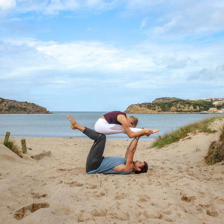 Seated Forward Fold (AcroYoga Biblio)