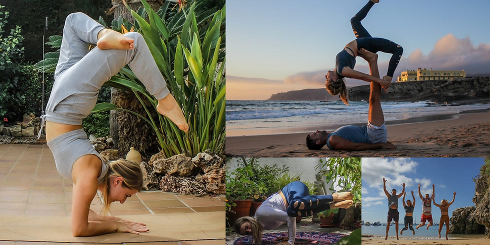 28 July - 1 August 2021 / 5 Days Beach AcroYoga, Yoga Inversion Retreat, Portugal