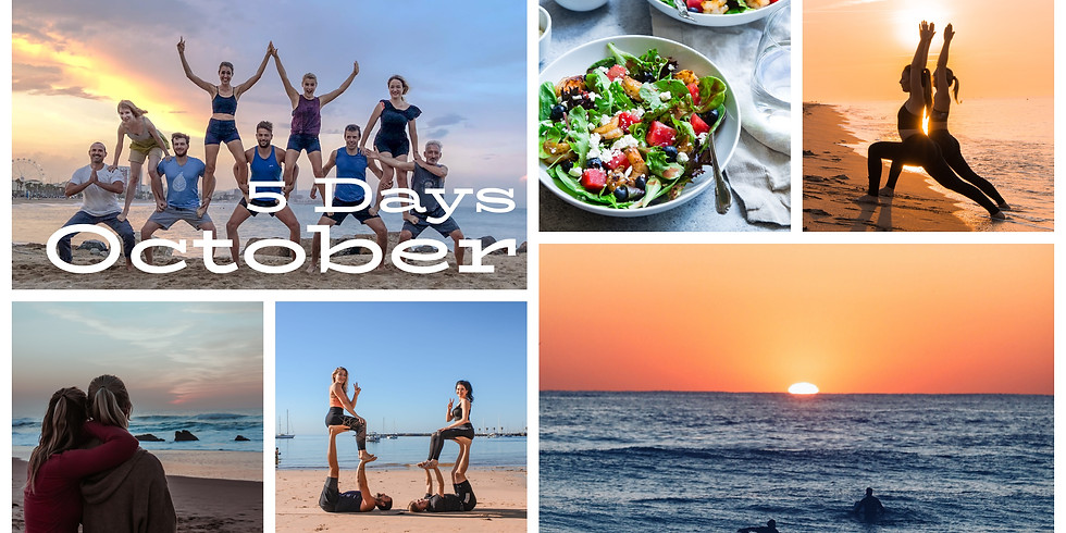 October 2020 / 5 Days Yoga Fly and Beach Fun in Cascais, Portugal