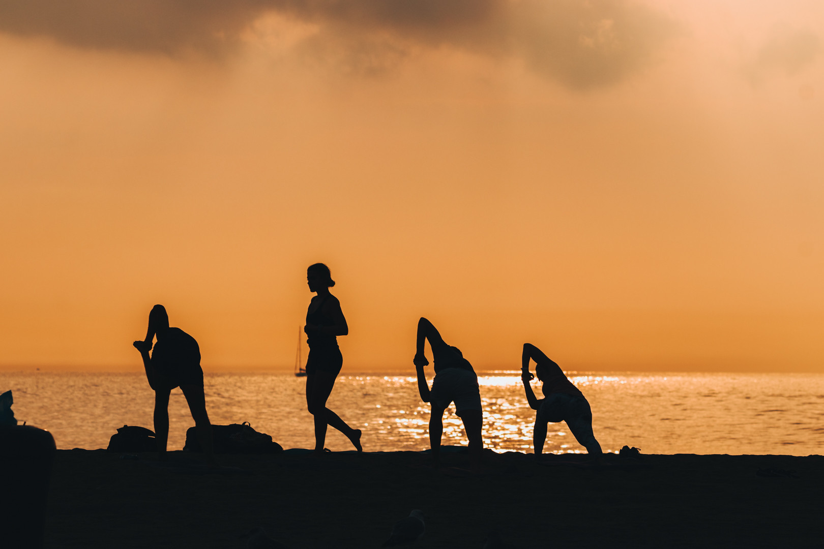 Sunrise Beach Yoga Class