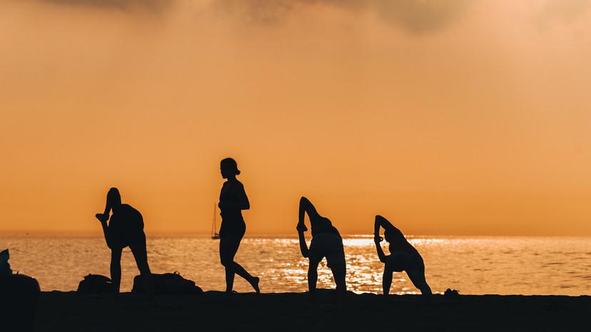 Sunrise Beach Yoga Class