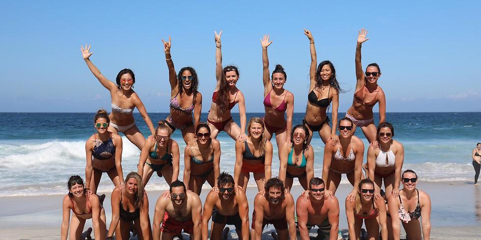 19 -22 August  2021 / 4 Days Leve II Beach Acro Yoga Retreat, Portugal