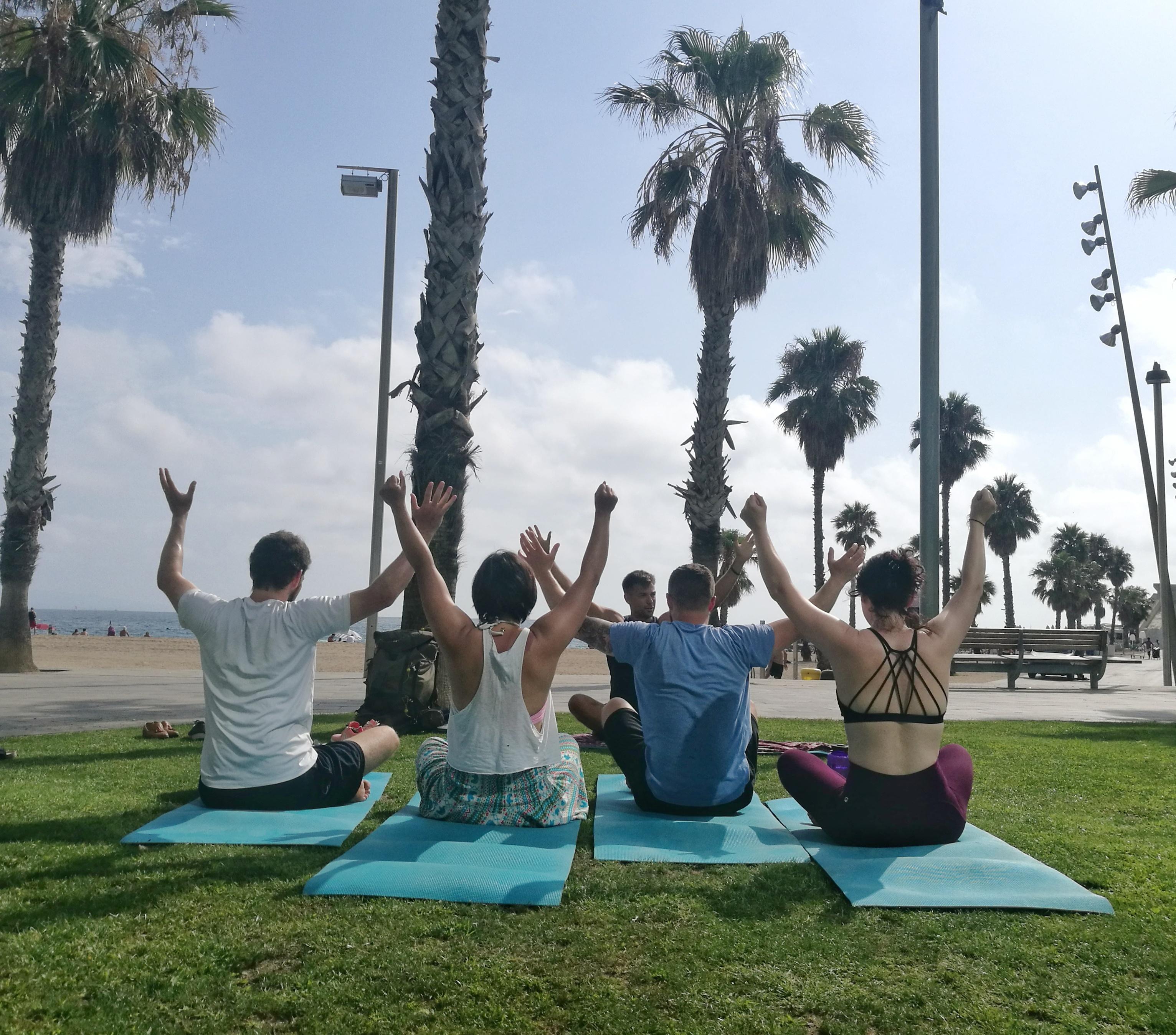 Acro yoga Warm Up