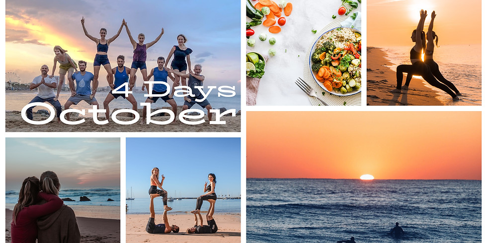 October 2020 / 4 Days Yoga Fly and Beach Fun in Cascais, Portugal