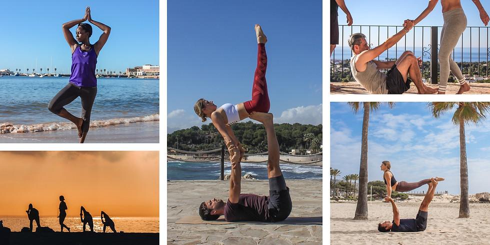28. Oct - 1. Nov 2021 / 5 Days Couple AcroYoga and Beach Fun, Spain