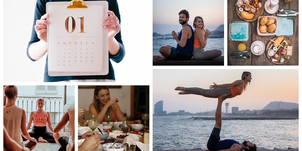 January 2020 / 4 Days Build Your Dreams, Acro & Yoga in Cascais, Portugal