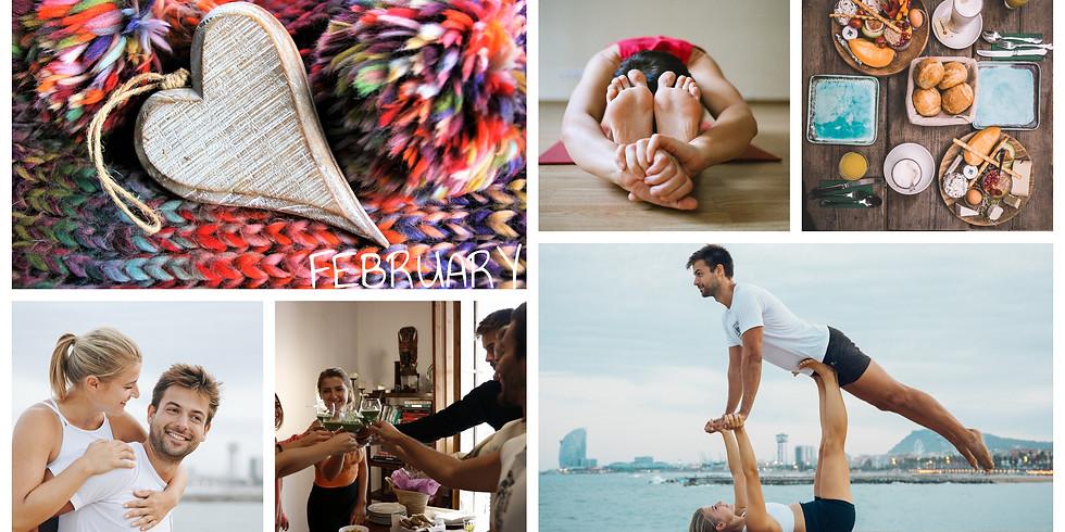 February 2020 / 4 Days Build Your Dreams, Acro & Yoga in Cascais, Portugal