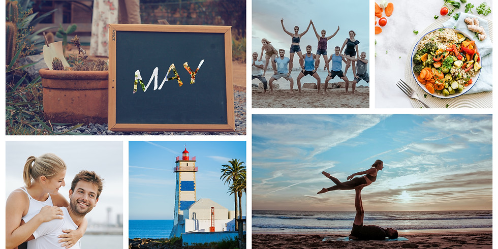 May 2021 / 5 Days Couple AcroYoga and Beach Fun, Spain