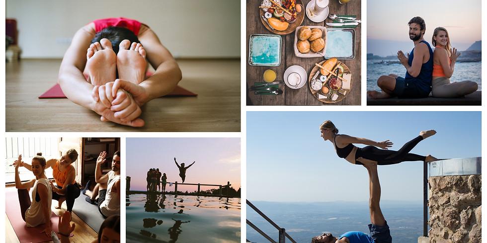 4 Days Build Your Dreams, Acro & Yoga in Cascais, Portugal