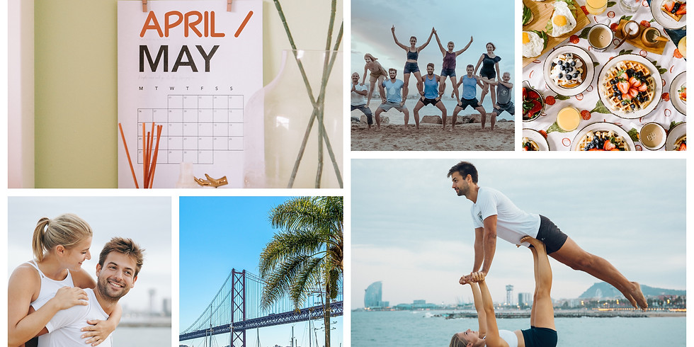 April/May 2020 / 4 Days Build Your Dreams, Acro & Yoga in Cascais, Portugal