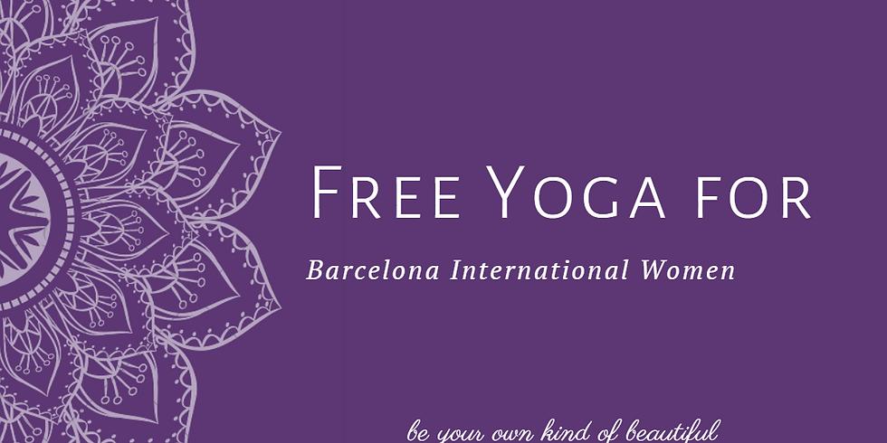 "Free Yoga for ""Barcelona International Women"""