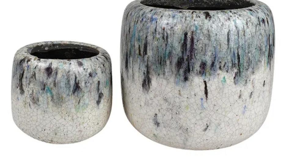 Azure pots