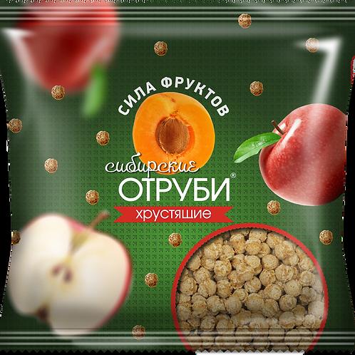 """Сибирские отруби хрустящие """"Сила фруктов"""" 100гр"""