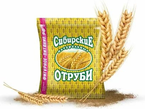 Отруби Пшеничные | натуральные Сибирские, 200г