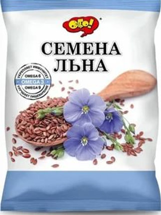 Семена льна коричневого ТМ ОГО, 150 гр.