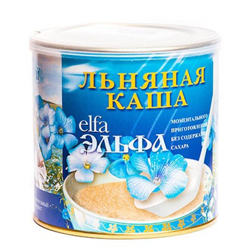"""Каша льняная """"Эльфа"""" курага ,400гр"""