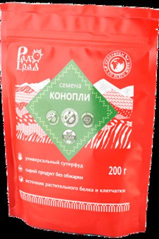 Семена конопли,  200 гр.
