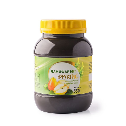 Ламифарэн, гель пищевой Фруктис-груша 550мл.