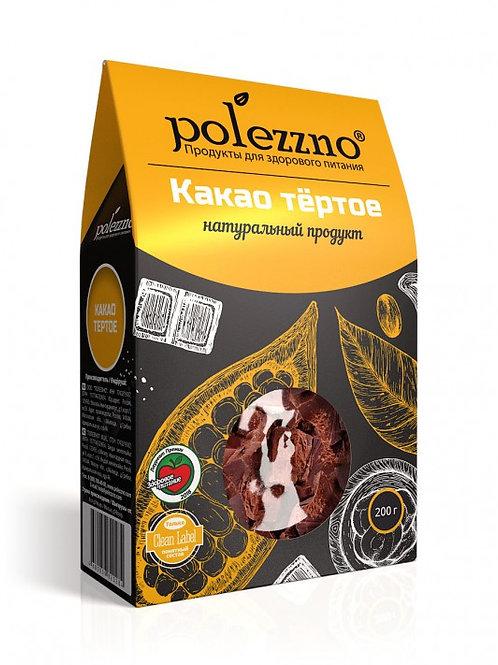 Какао тёртое натуральное, 200 гр