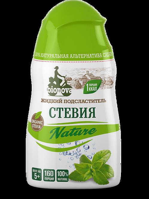 Жидкий подсластитель «Стевия Nature 80г, 160 порций.
