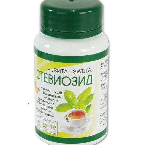 Стевиозид, натуральный заменитель сахара, 40г