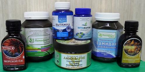 """Ламифарэн, ламидан, морской гребешок, ламинария в магазине здорового питания """"Алиса"""" в Хабаровске"""